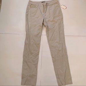 J. McLaughlin Straight Leg Khaki Pants